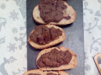Crostini toscani (ricetta di Topino 14 + variante)